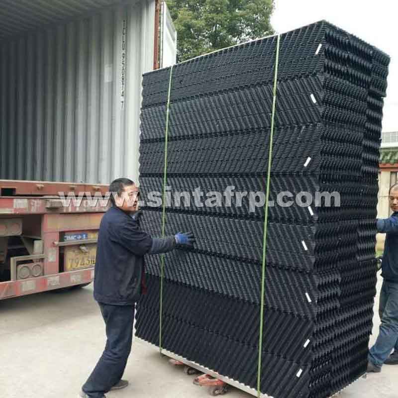 CF-1900 CROSS FLUTED PVC COOLING TOWER FILLINGS