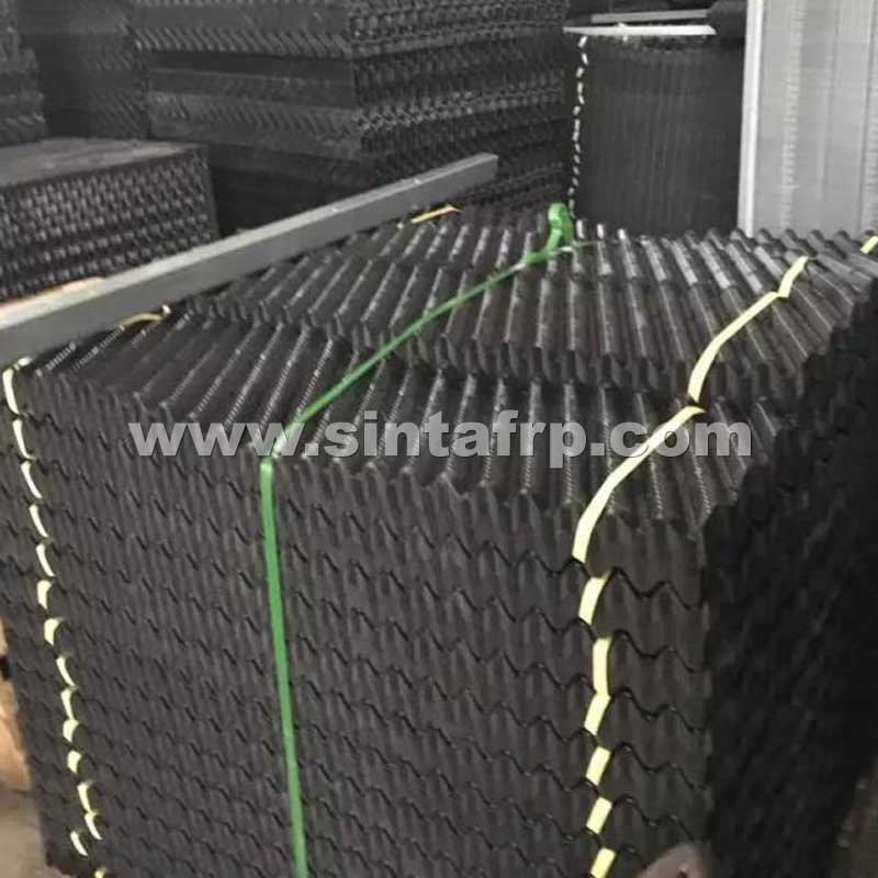 CF-1900 CROSS FLUTED PVC COOLING TOWER FILL SHEETS