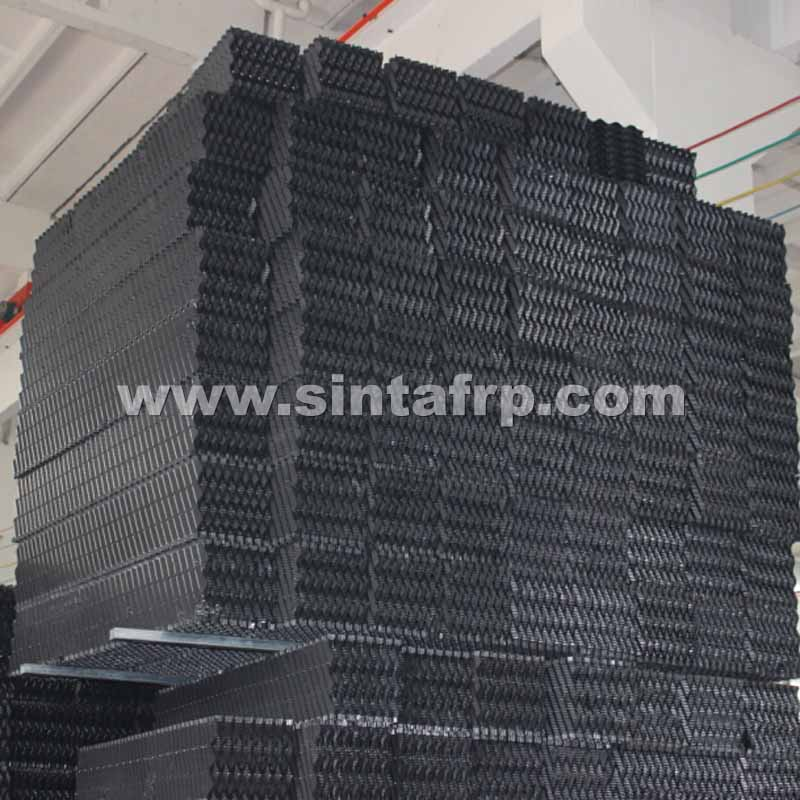 CF-1900 CROSS FLUTED PVC COOLING TOWER FILL Blocks
