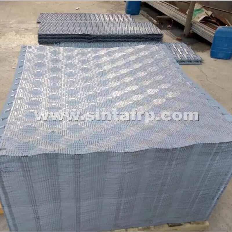Spindle Cooling Tower PVC InFill-SINTAFRP