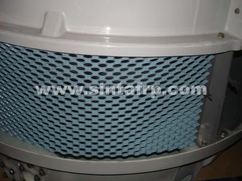 COOLING TOWER AIR INLET MESH PVC LOUVERS