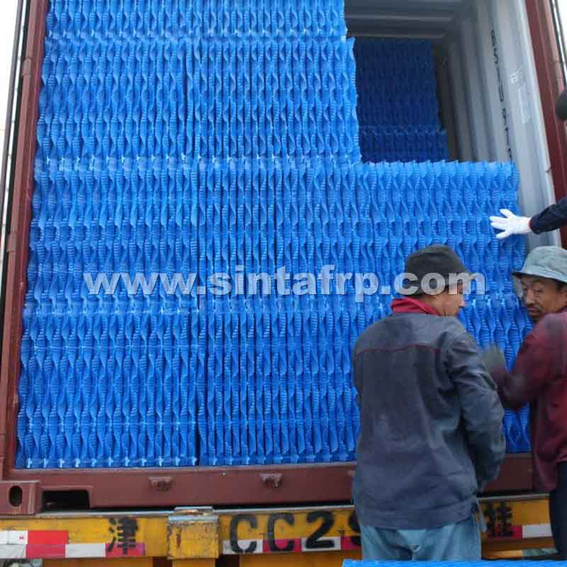 S WAVE COUNTER FLOW PVC COOLING TOWER FILLINGS