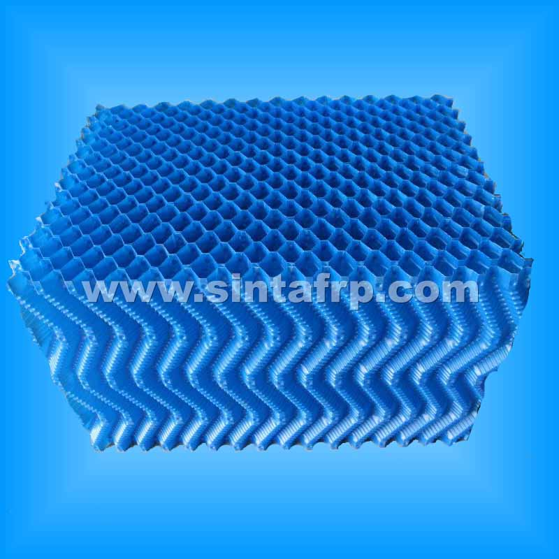 S Wave Counter Flow PVC Cooling Tower Fill