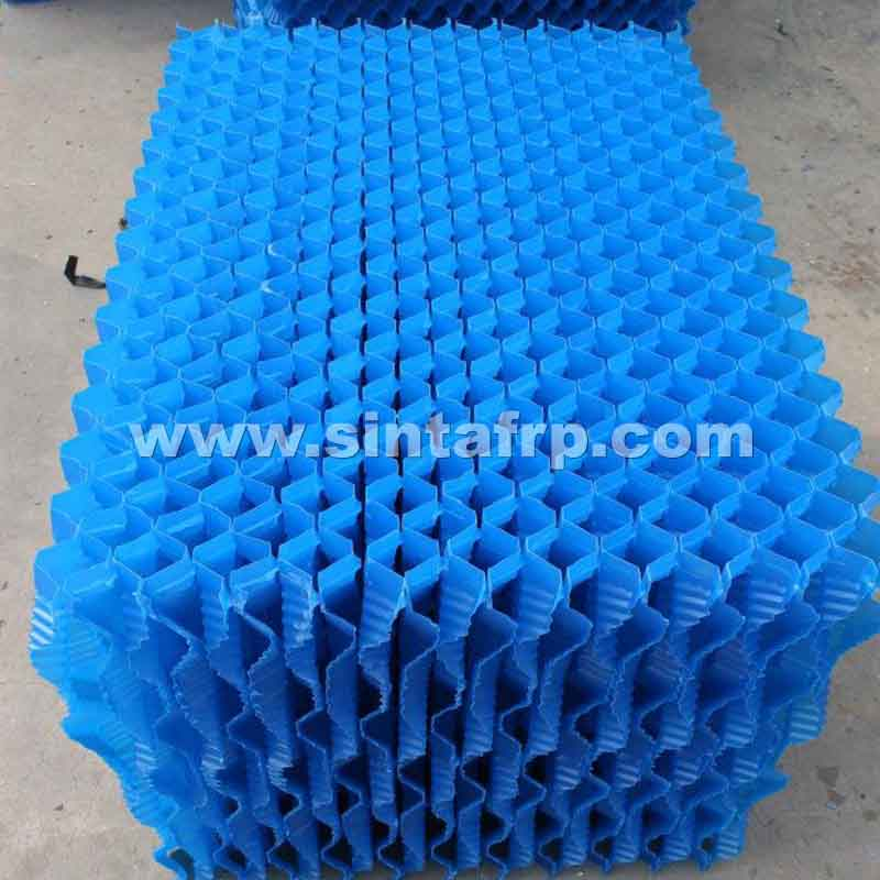 S Wave Counter Flow PVC Cooling Tower Filler