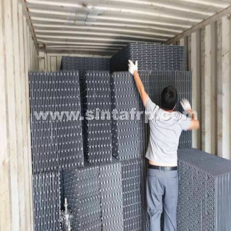 NEW PVC Cooling Tower structured trickling filter media