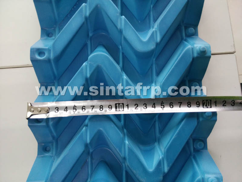 S WAVE DRIFT ELIMINATOR FOR COUNTER FLOW COOLING TOWER