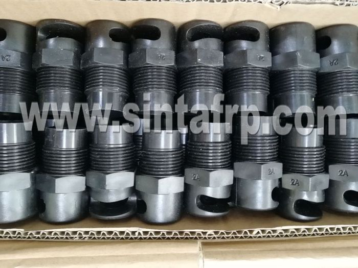 Cooling Tower 180 Degree Threaded Spray Nozzles