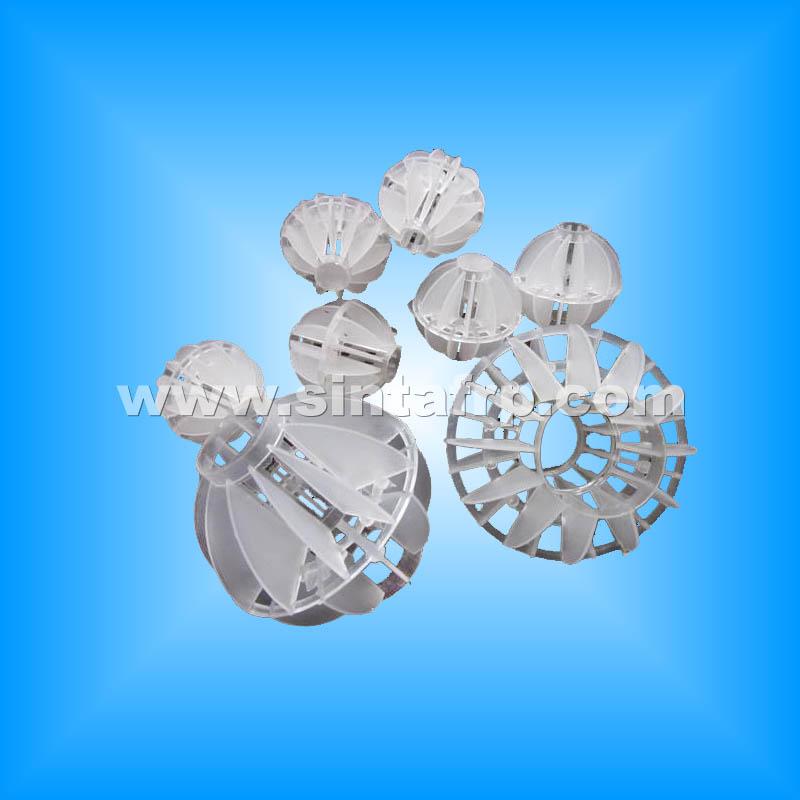 Polyhedral Balls Plastic Bio Filter Media