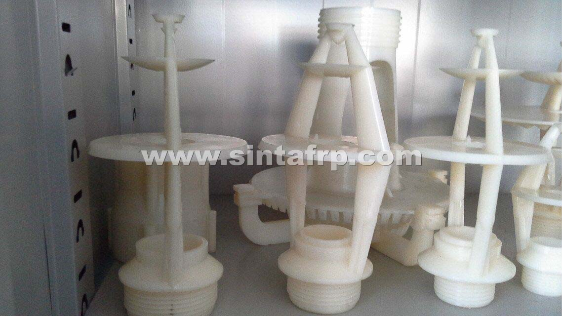 Industrial Water Spray-Nozzle Middle Basket Type Nozzle For Cooling Tower Orchid Spray Nozzle with Rubber-Gromment