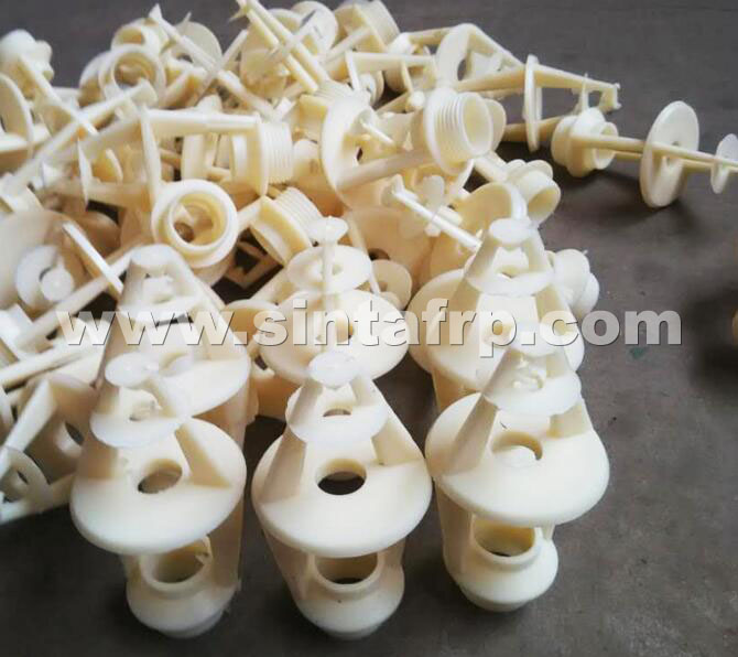 THREE LAYERS PLASTIC COOLING TOWER NOZZLES