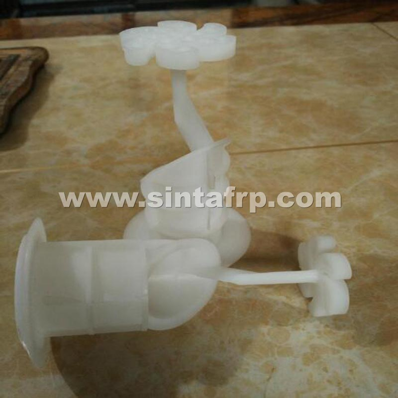 COOLING TOWER SPIRAL TARGET CROSSFLOW NOZZLE