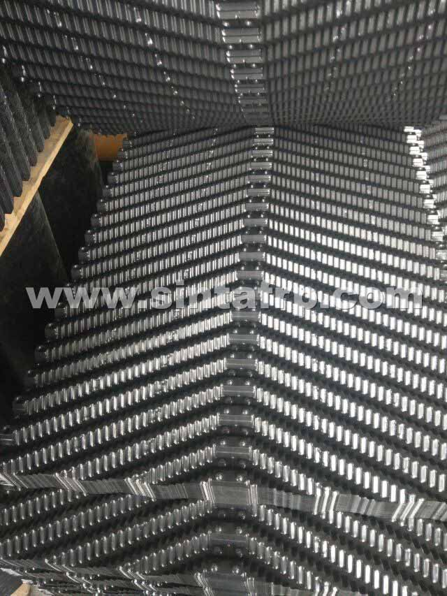 Counterflow Cross Corrugated Cooling Tower Filler