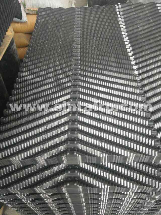 Counterflow Cross Corrugated Cooling Tower Fillings