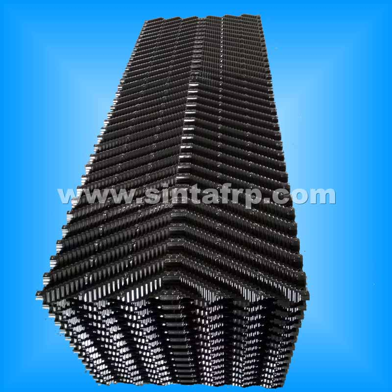 Counterflow Cross Corrugated Cooling Tower Fill